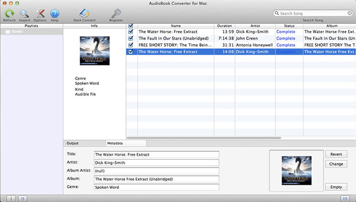 iTunes AudioBooks Converter